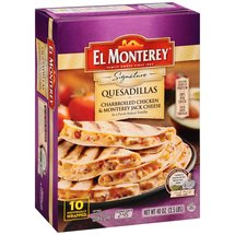 El Monterey Signature Quesadillas Charbroiled Chicken & Monterey Jack Cheese