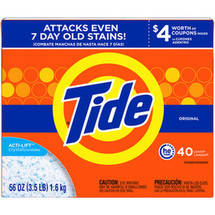 Ultra Tide Original HE Powder Laundry Detergent