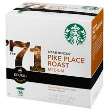 Starbucks K-Cup Pike Place Blend Coffee