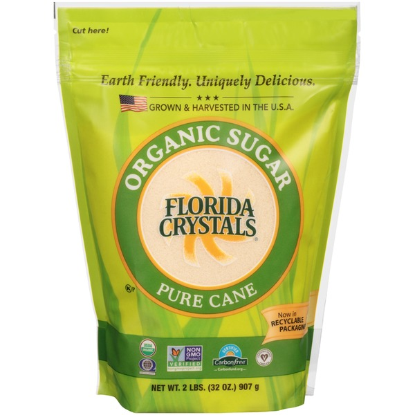 Florida Crystals Organic Raw Cane Sugar
