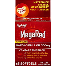 MegaRed Omega-3 Krill Oil Supplement