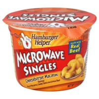 Betty Crocker Cheeseburger Macaroni Hamburger Helper Microwave Singles