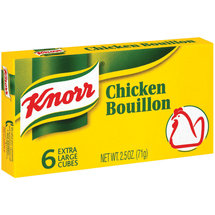 Knorr Chicken Bouillon Extra Large Cubes
