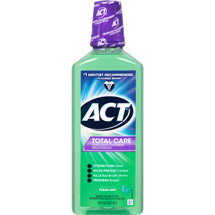 ACT Total Care Fresh Mint Anticavity Fluoride Rinse