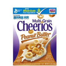 Cheerios Multi Grain Peanut Butter Cereal