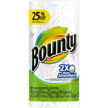 Bounty Paper Towels Single Roll