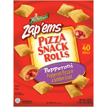 Michelina's Snack Rolls Pepperoni Pizza