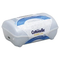 Kleenex Cottonelle FreshCare Flushable Cleansing Cloths Clean Ripple - 42 CT