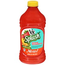 V8 Splash Island Strawberry Vegetable and Fruit Juice