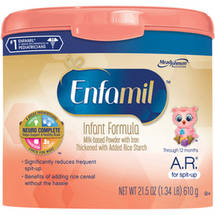 Enfamil A.R. baby formula ??? 21.5 oz Powder in Reusable Tub