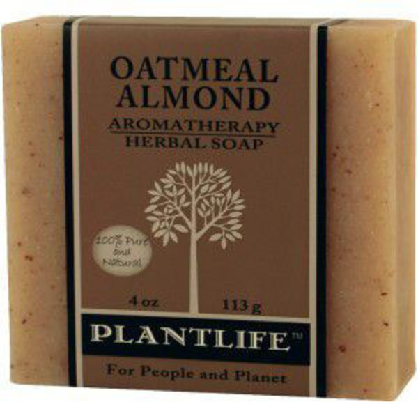 Plantlife Oatmeal Almond Aromatherapy Herbal Soap