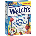 Welch's Mixed Fruit Fat Free Fruit Snacks