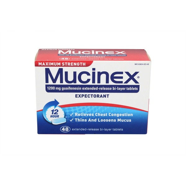 Mucinex 12 Hour Max Strength Expectorant