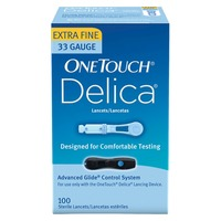 Pharmacy OneTouch® Delica® 33 Guage Fine Lancets