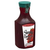 Simply Beverages Simply Cranberry Cranberry Cocktail