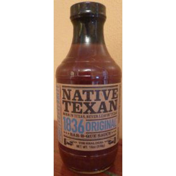 Native Texan 1836 Original Hickory Barbecue Sauce