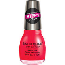 SinfulColors SinfulShine Step 1 Color Nail Color Picante