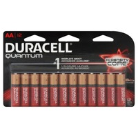 Duracell Quantum Duracell Quantum AA Alkaline Batteries 12 count Primary Major Cells