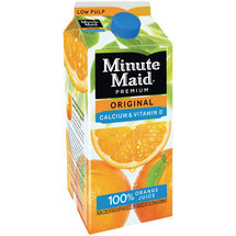 Minute Maid Premium Original Low Pulp Calcium & Vitamin D 100% Orange Juice
