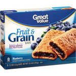 Great Value Blueberry Fruit & Grain Bars