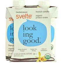 CalNaturale Svelte French Vanilla Protein Drink 4 pk