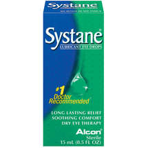 Alcon Systane Dry Eye Lubricant Artificial Tear Drops
