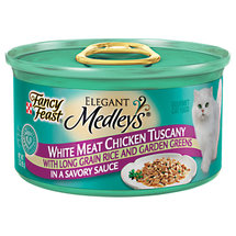 Fancy Feast Elegant Medleys White Meat Chicken Tuscany In Sauce w/Rice & Garden Greens Cat Food