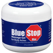 Blue Stop Max Massage Gel for Body Aches