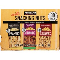 Kirkland Signature Variety Snacking Nuts Almonds, Peanuts And Cashews