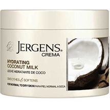 Jergens Crema Hydrating Coconut Milk
