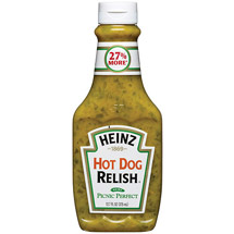 Heinz Relish Hot Dog