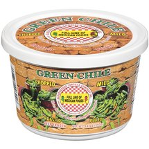 Albuquerque Tortilla Co. Inc. Mild Chopped Roasted & Peeled Green Chile Peppers