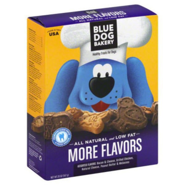 Blue Dog Bakery More Flavors Healthy Treats for Dogs