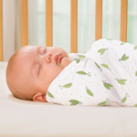 Summer Infant SwaddleMe Muslin Blanket Sweet Pea