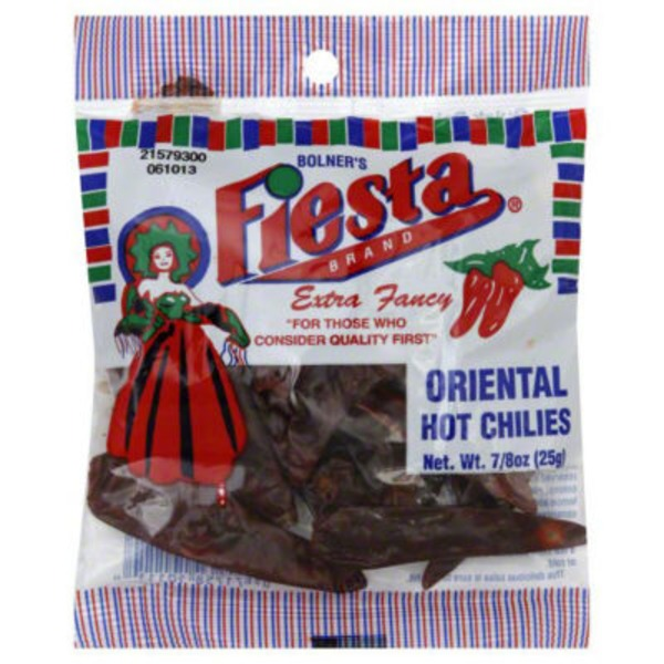Fiesta Hot Oriental Chilies