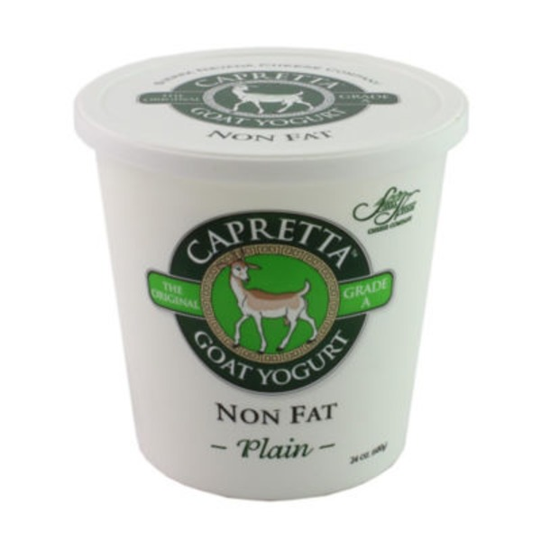 Capretta Non Fat Plain Goat Yogurt