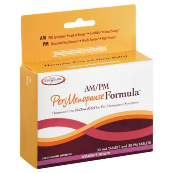 Enzymatic Therapy PeriMenopause Formula, AM/PM, Tablets