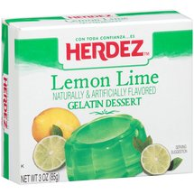 Herdez Lemon Lime Gelatin Dessert Mix