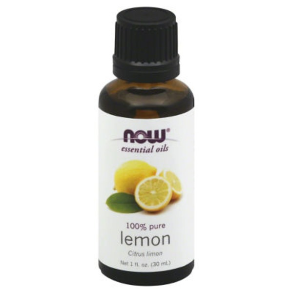 Now Essential Oils, 100% Pure, Lemon, Bottle