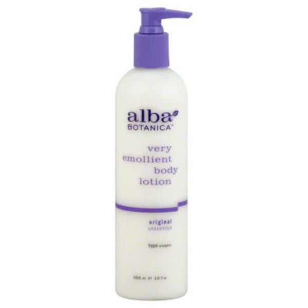 Alba Botanica Natural Very Emollient Body Lotion Unscented Original