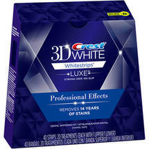 Crest 3D White Whitestrips Luxe Professional Effects Teeth Whitening Kit