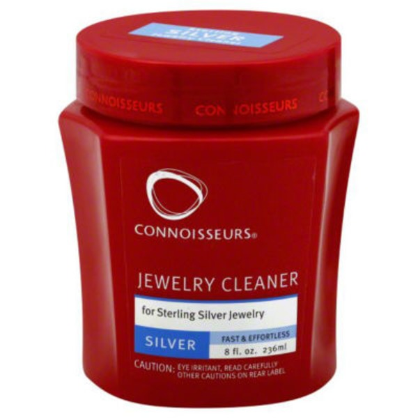 Connoisseurs Jewelry Cleaner for Sterling Silver Jewelry