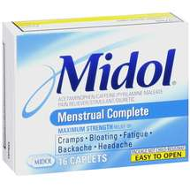 Midol Maximum Strength Menstrual Relief