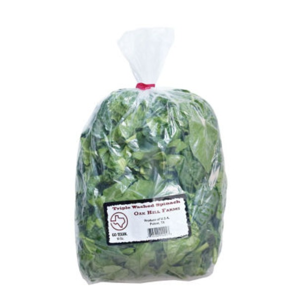 Oak Hill Farms Cora Lamar's Spinach