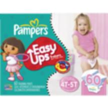 Pampers Easy Ups Girls' Training Pants 4T-5T