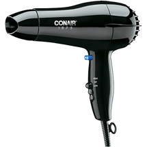 Conair 1875 Watt Mid-Size Dryer Black Model 247WB