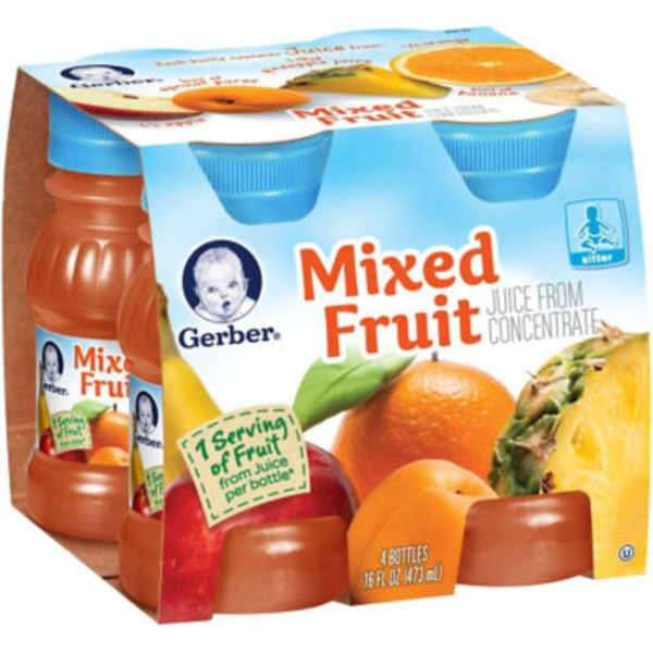 Gerber Juice Mixed Fruit Juice Fruit