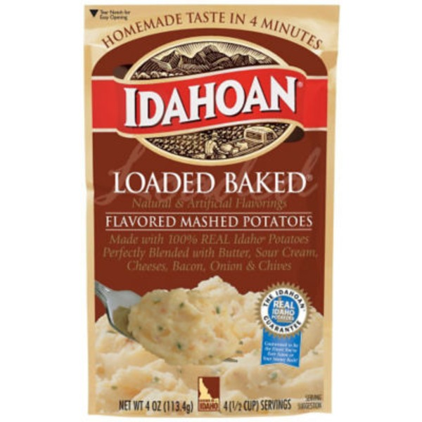 Idahoan Loaded Baked Mashed Potatoes