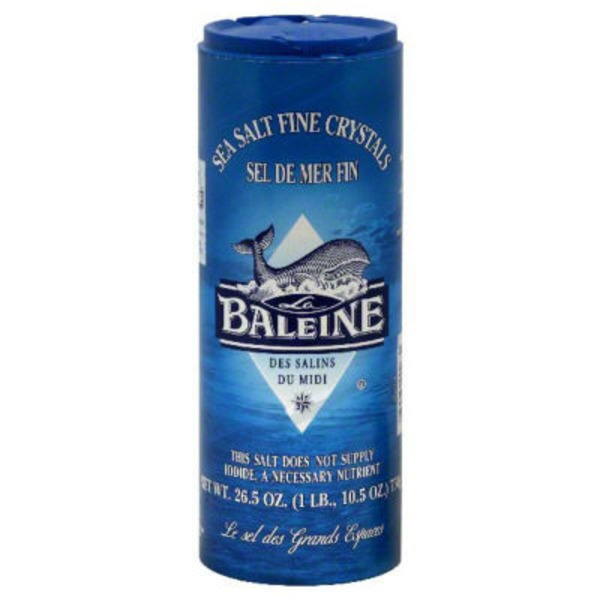 Baleine Sea Salt Fine Crystals