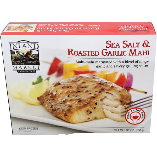Inland Market Sea Salt & Roasted Garlic Mahi Mahi